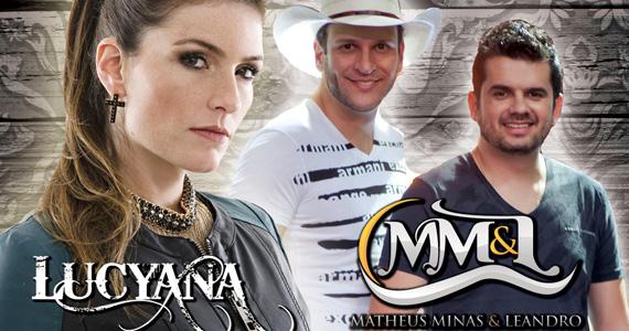 Cantora Lucyana e dupla Matheus Minas & Leandro agitam o palco no Quintal do Espeto em Moema Eventos BaresSP 570x300 imagem