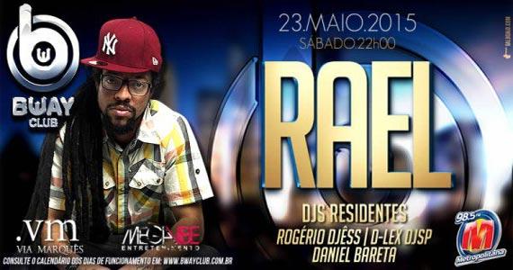 Rael da Rima toca os maiores sucesso do Hip Hop no Via Marquês Eventos BaresSP 570x300 imagem