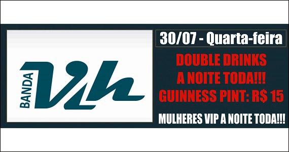 Republic Pub embala a quarta-feira com apresentação da banda VIH Eventos BaresSP 570x300 imagem