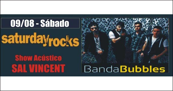 Sal Vincent e Banda Bubbles se apresentam no palco do Republic Pub Eventos BaresSP 570x300 imagem