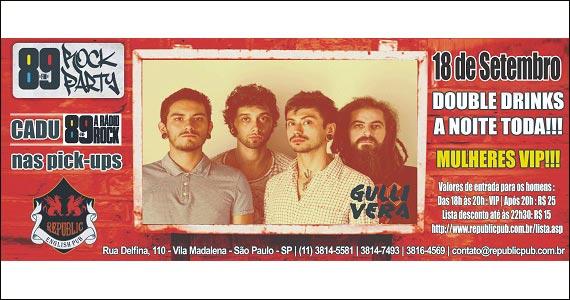 Republic Pub embala a noite ao som da banda Gullivera - 89 Rock Party Eventos BaresSP 570x300 imagem