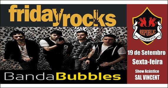 Republic Pub embala a noite ao som de Sal Vincent & Banda Bubbles - Noite Red Label Eventos BaresSP 570x300 imagem