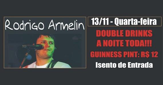 Cantor Rodrigo Armelin embala a noite de quarta-feira com muito pop rock no Republic Pub - Rota do Rock Eventos BaresSP 570x300 imagem
