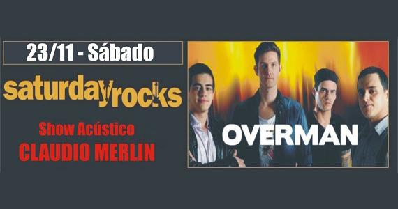 Claudio Merlin e banda Overman agitam a noite de sábado no Republic Pub Eventos BaresSP 570x300 imagem