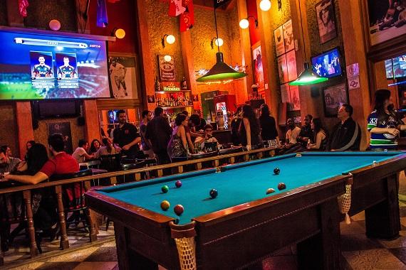Republick Pub transmiste na quarta-feira os melhores lances do futebol Eventos BaresSP 570x300 imagem