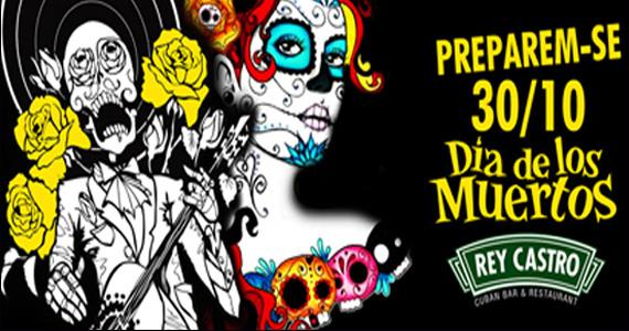 Rey Castro realiza nesta quarta-feira a Festa Día de Los Muertos Eventos BaresSP 570x300 imagem