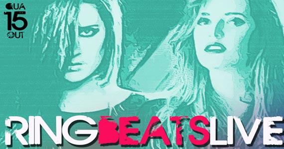 Ring Beats Live com Natalie Bergamo & Mafe Saad no Dezoito Bar Eventos BaresSP 570x300 imagem