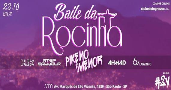 Via Marquês realiza Baile da Rocinha com Pikeno e Menor e convidados  Eventos BaresSP 570x300 imagem