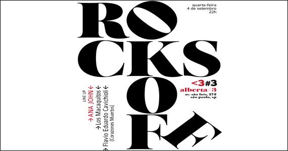 Alberta #3 recebe a festa Rocks Off na quarta-feira com convidados especiais Eventos BaresSP 570x300 imagem