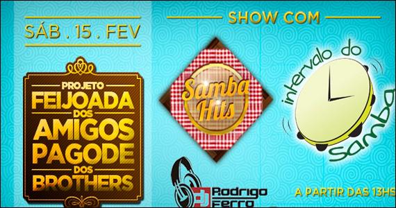 Feijoada e Roda de Samba no sábado do Maevva Bar  Eventos BaresSP 570x300 imagem