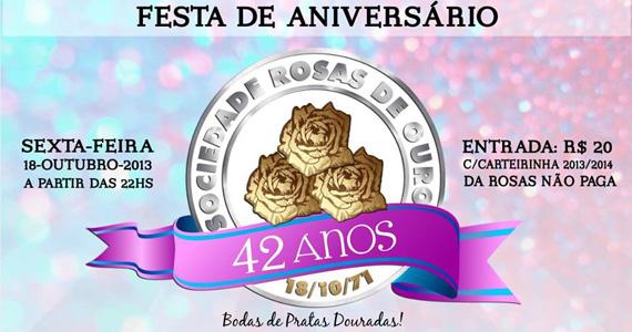 Rosas de Ouro completa 42 anos com festa repleta de samba e bateria da escola nesta sexta-feira Eventos BaresSP 570x300 imagem