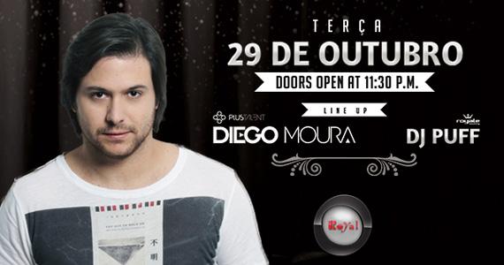 Club Royal embala a noite com o comando do Diego Moura  Eventos BaresSP 570x300 imagem