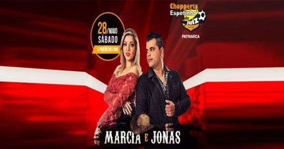 Sabadão Sertanejo com Marcia e Jonas agita o Bar Espetinho do Juiz Eventos BaresSP 570x300 imagem