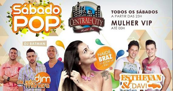 Central City Music Bar recebe diversas atrações para animar o sábado Eventos BaresSP 570x300 imagem