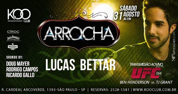Koo Club recebe Projeto Arrocha com Lucas Bettar e DJs convidados Eventos BaresSP 570x300 imagem