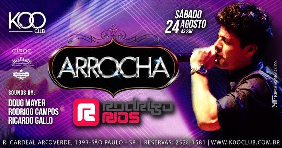 Rodrigo Rios anima a noite do Arrocha na Koo Club de sábado Eventos BaresSP 570x300 imagem