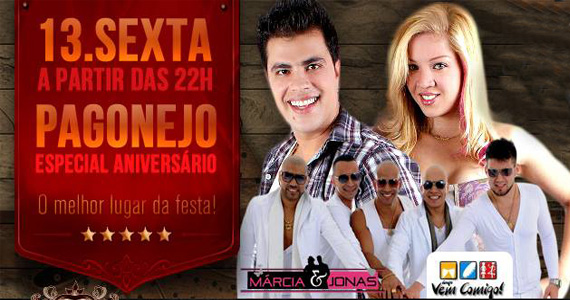 Sabbada Music Bar agita a sexta-feira com muito Pagonejo com o grupo Vem Comigo e Dupla Marcia  Eventos BaresSP 570x300 imagem