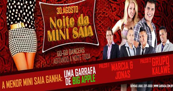 Noite da Mini Saia agita a sexta-feira com Pagonejo no Sabbada Music Bar Eventos BaresSP 570x300 imagem