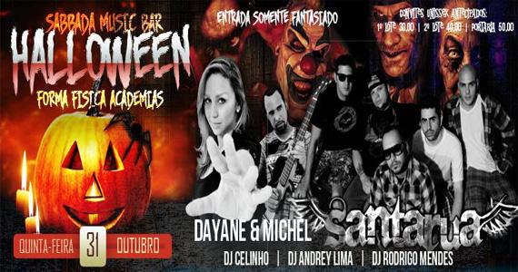 Sabbada Music Bar recebe festa especial de Halloween com shows e DJs animando a quinta-feira Eventos BaresSP 570x300 imagem