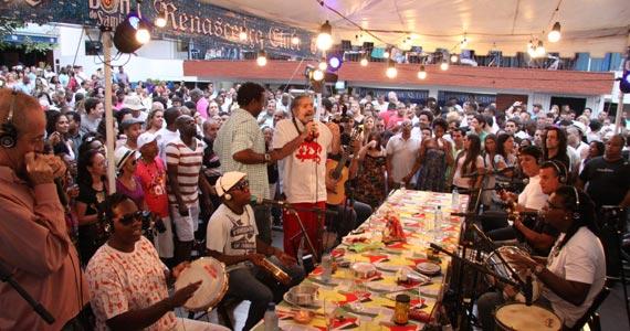 Samba do Trabalhador grava novo DVD no bar Pirajá e traz grandes nomes para roda de samba Eventos BaresSP 570x300 imagem