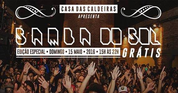 Samba do Sol acontece em edição especial na Casa das Caldeiras Eventos BaresSP 570x300 imagem