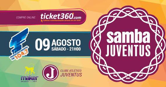 Samba Juventus com Raça Negra e Convidados no Clube Atlético Juventus Eventos BaresSP 570x300 imagem