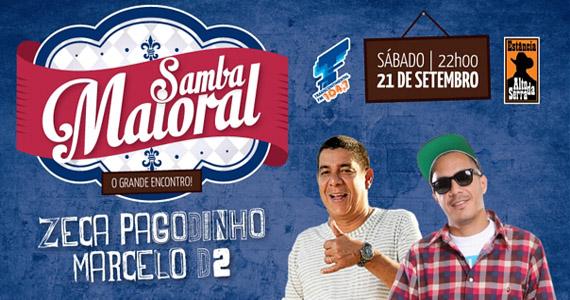 Zeca Pagodinho e Marcelo D2 comandam apresentação exclusiva na Estância Alto da Serra Eventos BaresSP 570x300 imagem