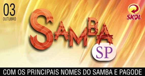 Samba SP leva Sorriso Maroto, Mumuzinho, Turma do Pagode, Pinha e Pixote ao Espaço das Américas Eventos BaresSP 570x300 imagem