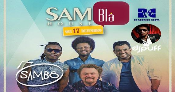Grupo Sambô anima o happy hour do Blá Bar na quinta feira Eventos BaresSP 570x300 imagem