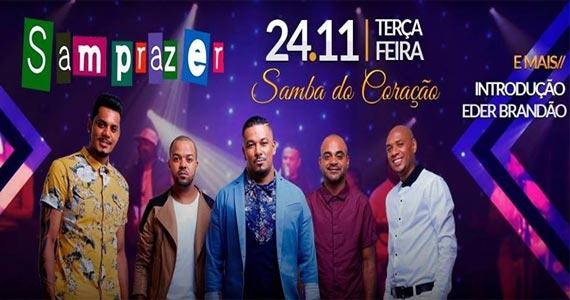 Samprazer anima o Coração Sertanejo tocando sucessos  Eventos BaresSP 570x300 imagem