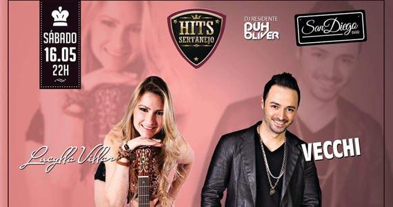 Festa Hits Sertanejo apresenta Lucylla e Vecchi no San Diego Bar Eventos BaresSP 570x300 imagem
