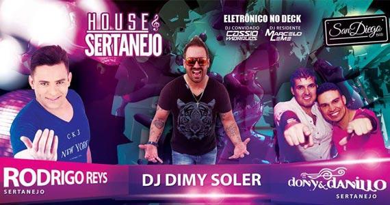 Festa House e Sertanejo recebe artistas da música sertaneja no San Diego Bar  Eventos BaresSP 570x300 imagem