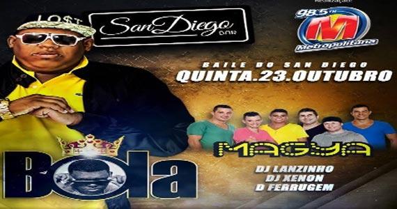 Baile do San Diego com Bola e Magya e outras atrações no San Diego Bar Eventos BaresSP 570x300 imagem