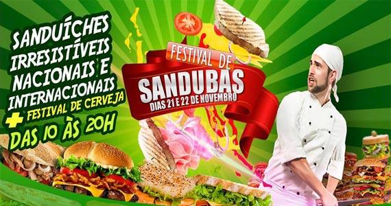 1º Festival de Sanduíches oferece diversos lanches no Memorial da América Latina Eventos BaresSP 570x300 imagem