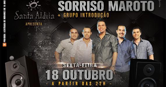 Sorriso Maroto e grupo Introdução embalam a noite de sexta-feira no Santa Aldeia Eventos BaresSP 570x300 imagem