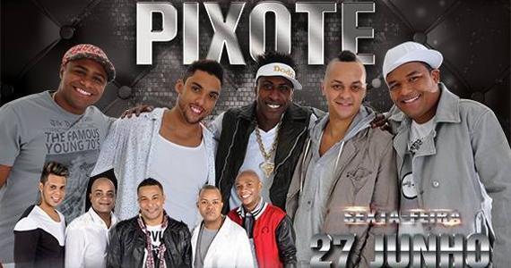 Pixote e Grupo Samprazer se apresentam na balada Santa Aldeia Eventos BaresSP 570x300 imagem