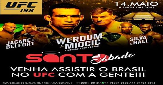 Santa Julia Bar e Restaurante tem show de Art Popular e transmite o UFC 198 no telão Eventos BaresSP 570x300 imagem