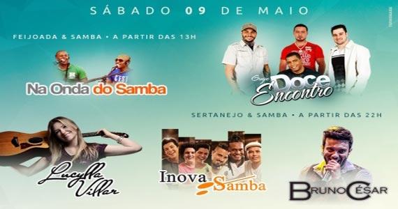 Grupo Inovasamba e convidados agitam a noite da galera no Bar Santa Julia Eventos BaresSP 570x300 imagem