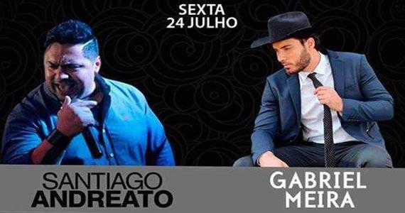 Cantor Santiago Andreato e Gabriel Meira tocam muito sertanejo na Imperial Club Eventos BaresSP 570x300 imagem