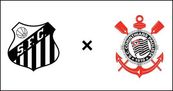 Santos x Corinthians no domingo do Elidio Bar Eventos BaresSP 570x300 imagem