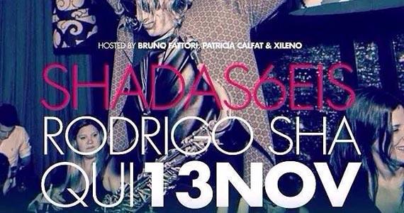 Panorama traz para São Paulo festa carioca Shadas6eis com convidados especiais Eventos BaresSP 570x300 imagem