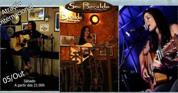 Seu Beraldo Botequim embala a noite de sábado com Jerlyn's Acoustic Eventos BaresSP 570x300 imagem