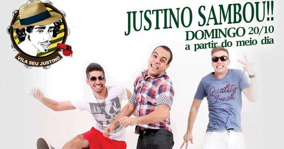 Grupo Go Samba embala o projeto Justino Sambou! deste domingo no Vila Seu Justino Eventos BaresSP 570x300 imagem