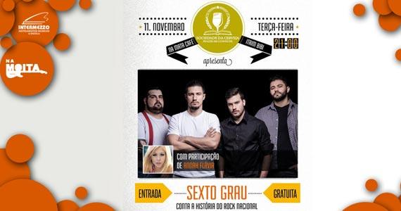 Banda Sexto Grau se apresenta no Na Mata Café com participação de Annah Flávia Eventos BaresSP 570x300 imagem