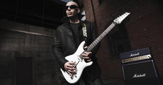 Joe Satriani um dos maiores ícones mundiais da guitarra no Citibank Hall Eventos BaresSP 570x300 imagem