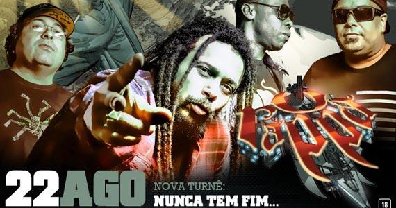 O Rappa faz show no Espaço das Américas com a nova turnê Nunca Tem Fim Eventos BaresSP 570x300 imagem