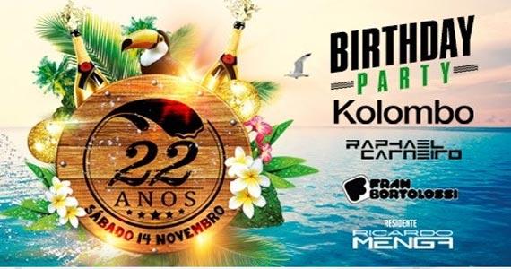 Sirena comemora o aniversário de 22 anos ao som dos Djs Kolombo e convidados Eventos BaresSP 570x300 imagem