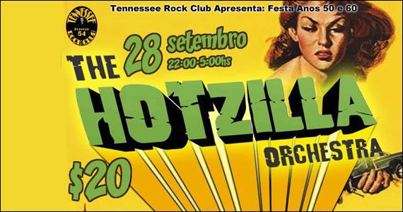 Sky Music Bar recebe o Hotzilla Orchestra no sábado - Rota do Rock Eventos BaresSP 570x300 imagem