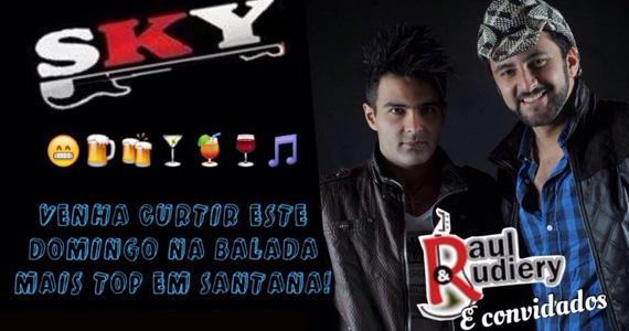 Apresentação de Raul & Rudiery no palco do Sky Music Bar  Eventos BaresSP 570x300 imagem