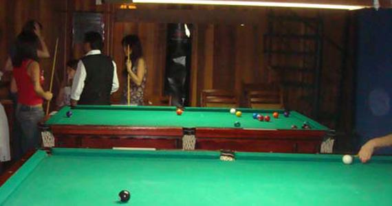 Happy hour com snooker e pebolim no Snooker Rock Bar Eventos BaresSP 570x300 imagem